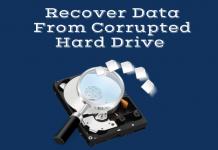 corrupted hard disk