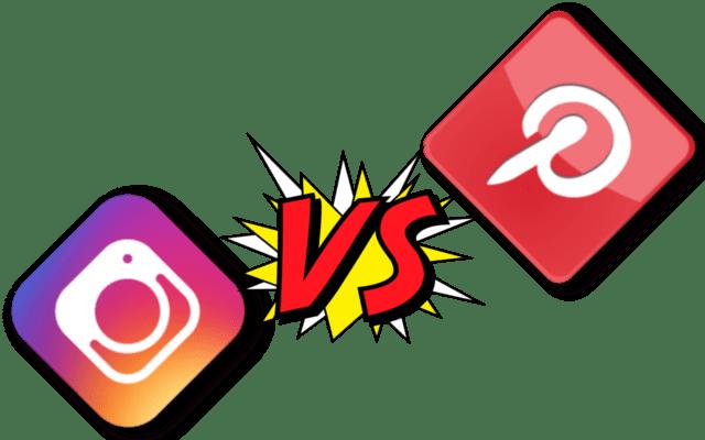 Instagram and Pinterest