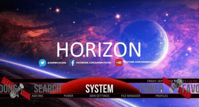 Horizon Build on Kodi 17